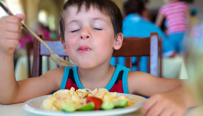 Kids prefer boring food