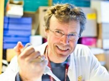Professor and paediatrician Pål Rasmus Njølstad at UiB is researching the association between genetics, obesity, and diabetes. (Photo: Haukeland University Hospital)