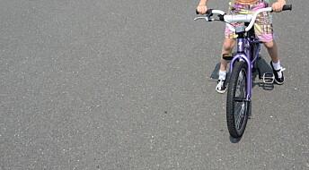 Slik holder du balansen på sykkelen
