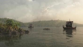 Dansk vikinggrav med britisk sensasjon