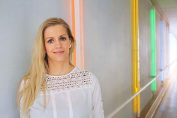 Anett Hellebø Ottesen er overrasket over noen av holdningene til stipendiatene i fuskestudien. Hun tror stort press om å prestere er hovedårsaken. (Foto: Elin Fugelsnes)