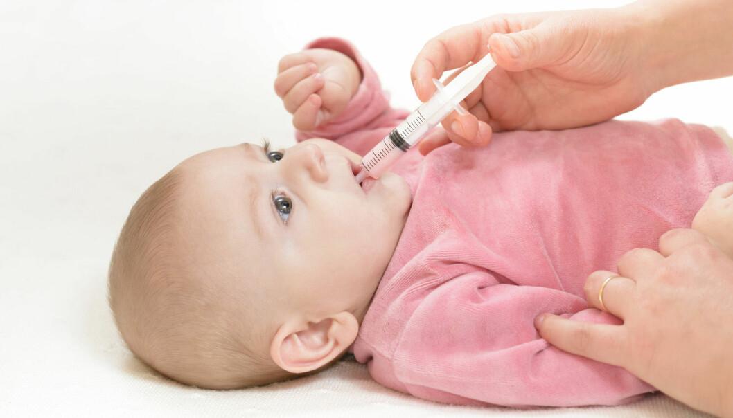 Det ser ikke ut til at tidlig antibiotikabruk henger sammen med økt risiko for barnefedme, ifølge en ny studie.   (Illustrasjonsfoto: Marius Pirvu / Shutterstock / NTB scanpix)