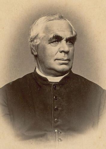 Kneippbrødets far: Sebastian Kneipp, tysk lege som også skrev bok om vannkur. (Foto: Hans Bischoff, 1890)