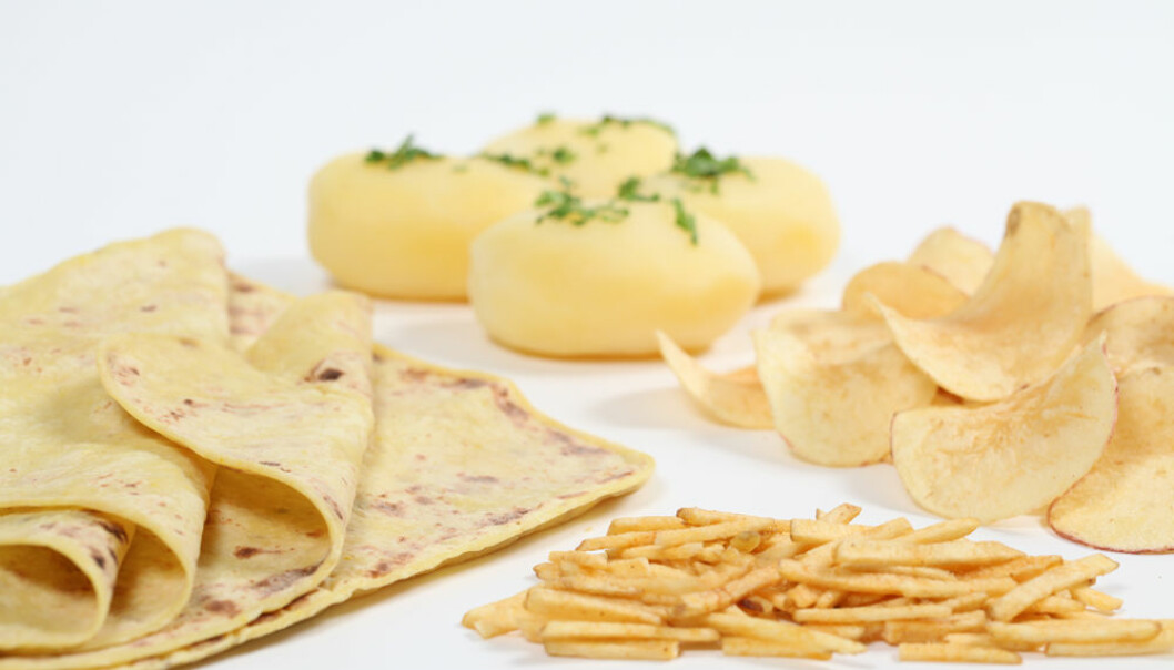 The method and length of cooking potatoes affects both griddle cake dough and other uses for potatoes. The aim is to find the best cooking method for different variations of dry matter and starch content, for example. (Photo: Kjell J. Merok)