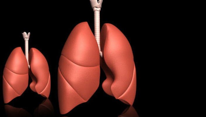 COPD lung disease ages the body