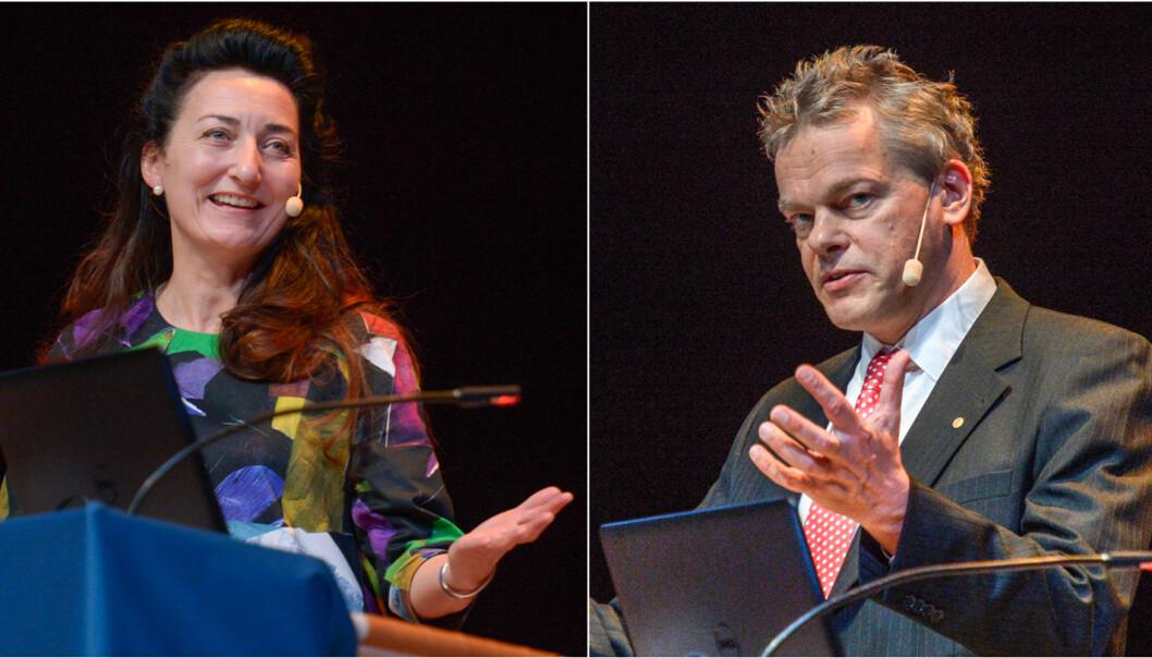 De vant Nobelprisen i medisin, men det var ikke en selvfølge at May-Britt og Edvard Moser fikk stipend for å ta doktorgradene sine. (Foto: Janerik Henriksson, TT/NTB scanpix)