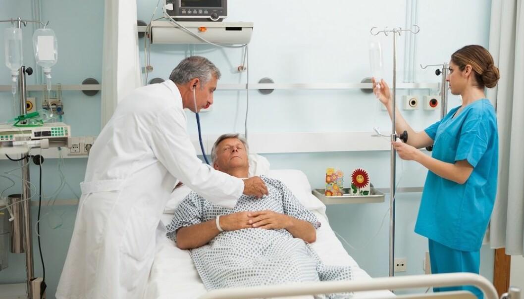 Etter en operasjon er det fare for at pasienten får for lite blod til livsviktige organer. En nyutviklet sensor kan overvåke blodstrømmen og gi beskjed om noe er galt.  (Foto: Shutterstock / Scanpix)