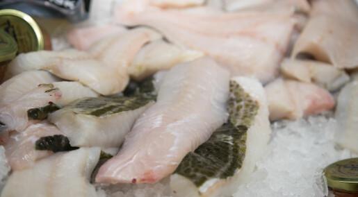 Mindre sulten av mager sjømat