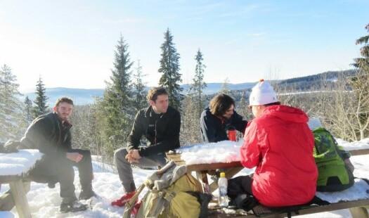 Skitur i krevende internasjonalt terreng