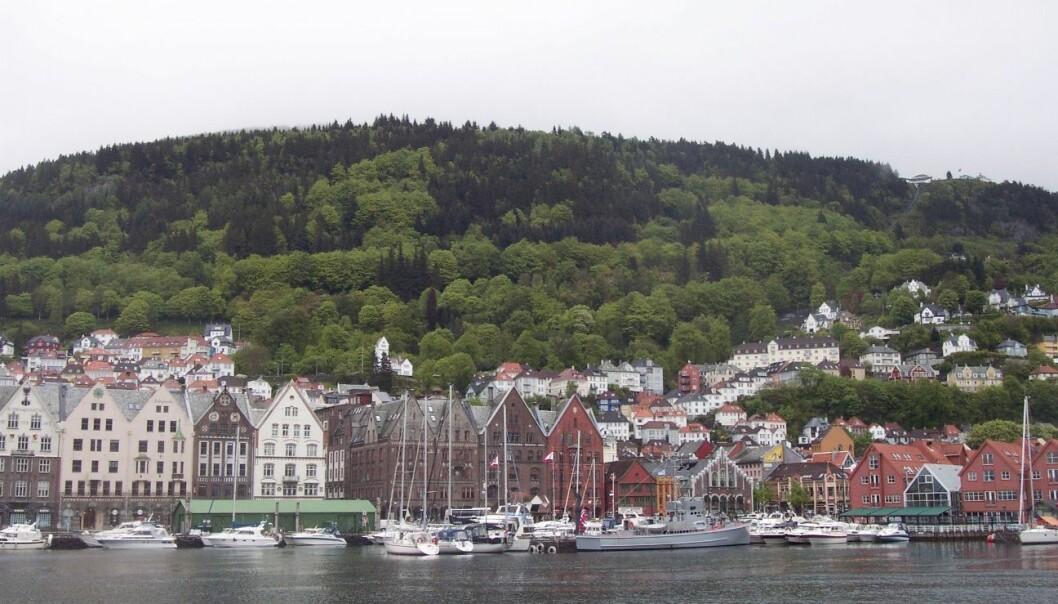 Citizens of Bergen use the accessible City Mountains as a retreat from urban life. (Photo: Wikipedia commons)