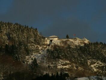 Fløien in winter. (Photo: Wikipedia commons)