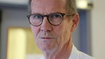 Dag Berild er professor og overlege ved infeksjonsavdelingen ved Oslo Universitetssykehus. (Foto: Bjørn Steinar Gundersen/NRK.)