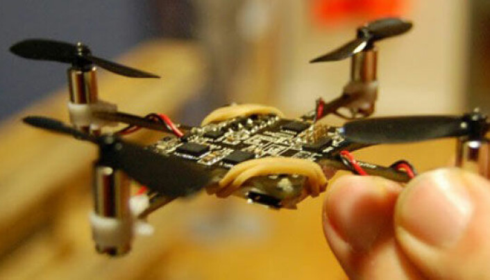 Swedish engineers launch hackable mini-drone