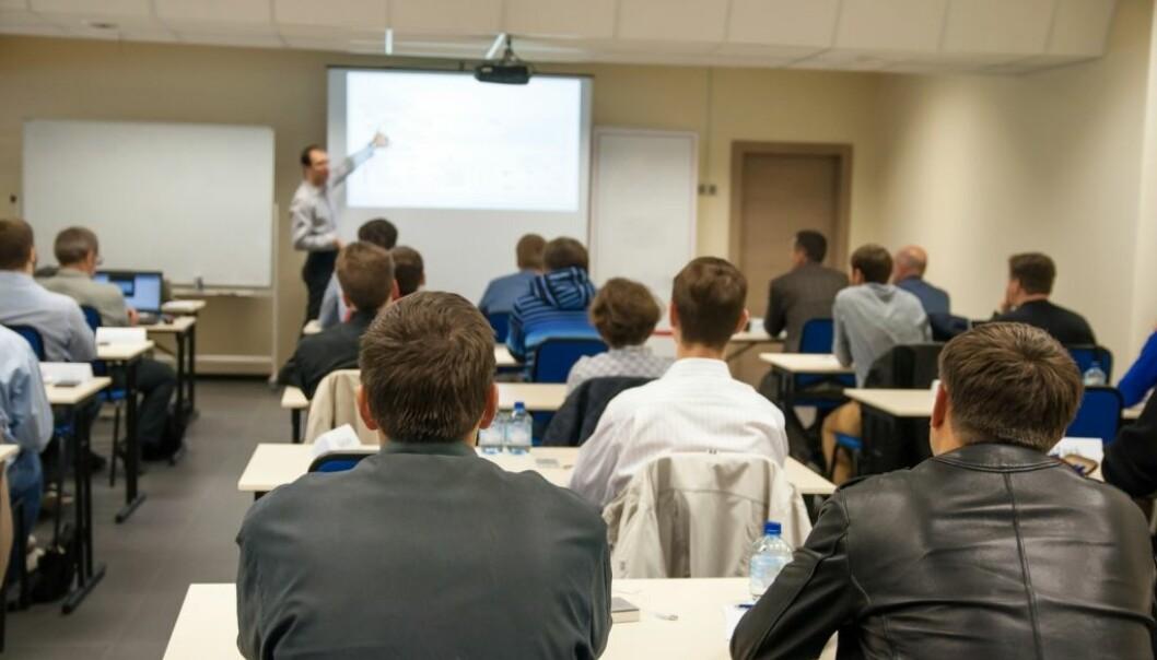 Dersom du bruker PowerPoint riktig, vil undervisningen din bli bedre.  (Illustrasjonsfoto: Elena11/Shutterstock/NTB scanpix.)