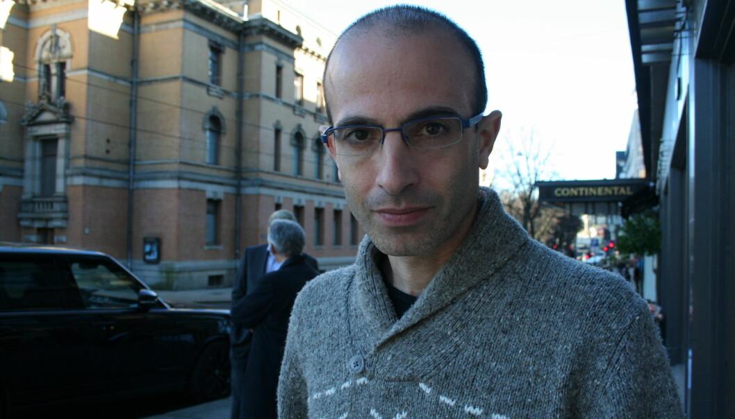Yuval Noah Harari er historieprofessor ved Det hebraiske universitetet i Jerusalem. (Foto: Lasse Biørnstad/forskning.no)