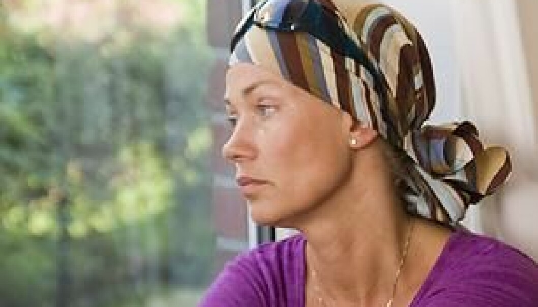 Tough chemotherapy, surgery and radiotherapy can have a lasting negative impact. (Photo: Colourbox)