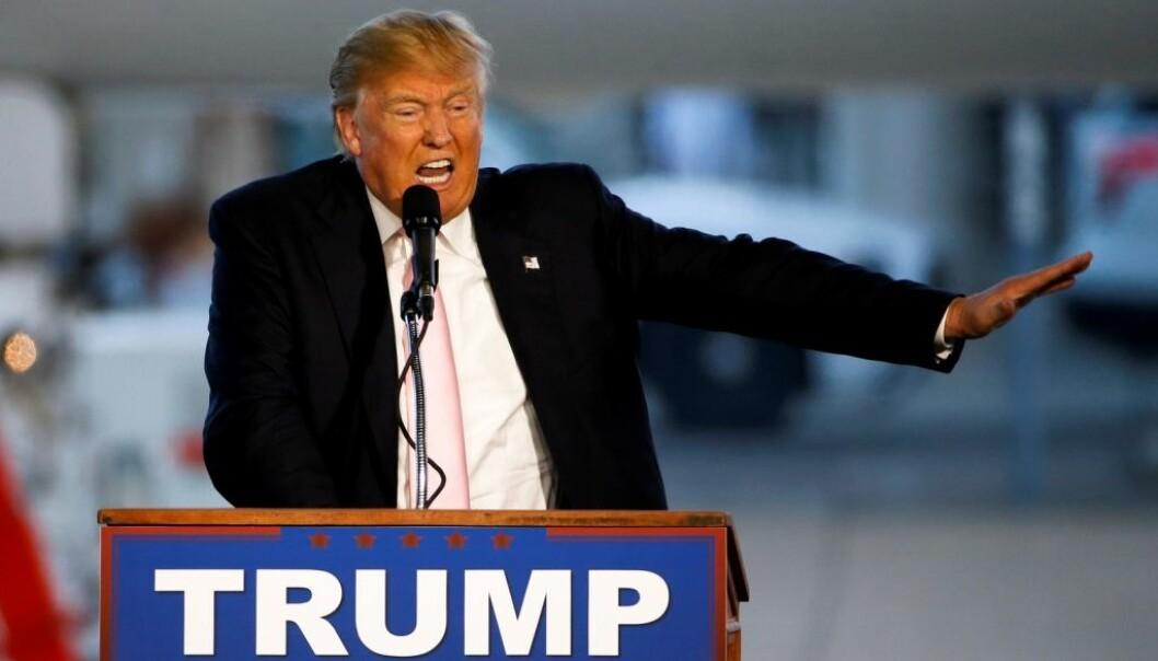 Donald Trump påsto tidligere i valgkampen at han hadde «de beste ordene». Ifølge forskere har han i hvert fall det svakeste ordforrådet blant de gjenværende presidentkandidatene. (Foto: AP Photo, Gene J. Puskar)