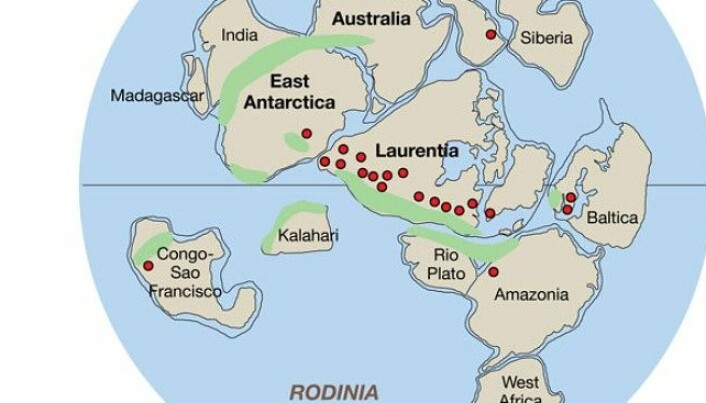Remains of early supercontinent found