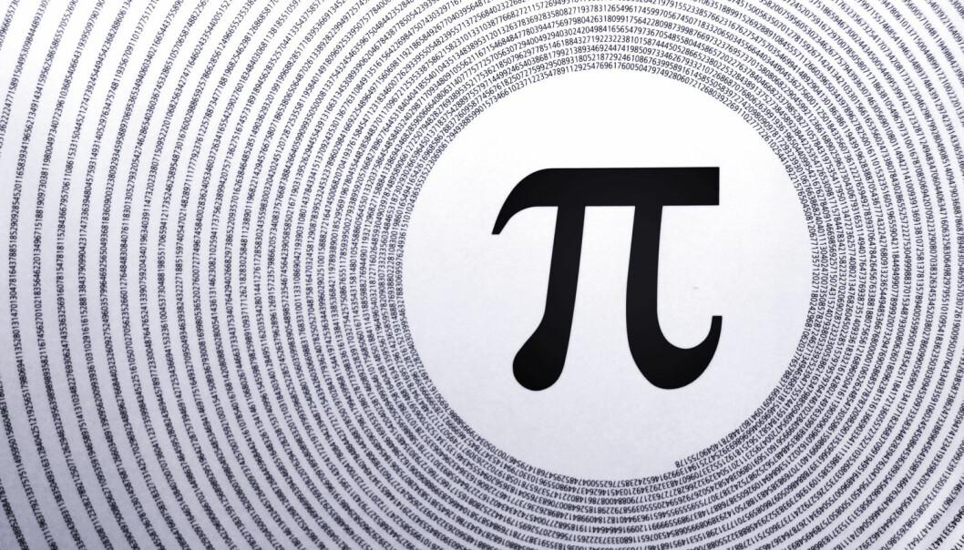 John Wallis´formel for å beregne pi fra 1655 falt ned i fanget til fysikere som lekte med hydrogenatomet. (Illustrasjon: Shutterstock)