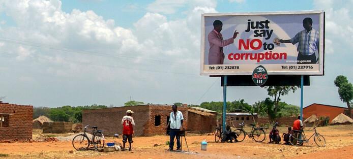 Korrupte samfunn lager uærlige mennesker