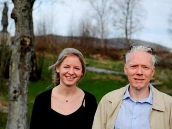 Katrine Holm Reiso and Øivind Anti Nilsen. (Photo: Helge Skodvin)