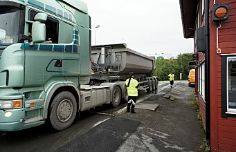 Weighing trailers on the road
