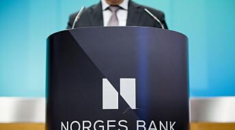 – Norges Bank var uforutsigbare og inkonsekvente i 2015