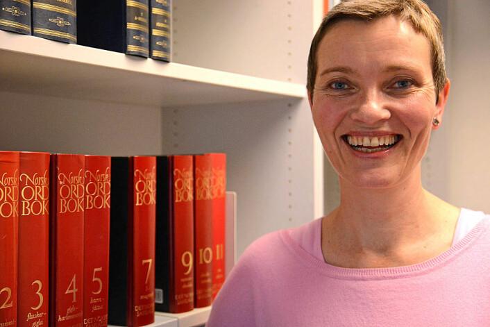 Ålov Runde måtte sette av mye plass til ord som begynner med «kvern» i 6. bind av Norsk Ordbok. (Foto: Ida Kvittingen)