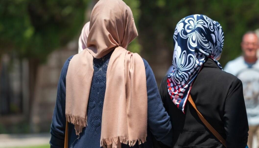 Et stort antall innvandrerkvinner faller utenfor arbeidsmarked og skole, ifølge rapport fra SSB.  (Illustrasjonsfoto: Italianvideophotoagency/Shutterstock/NTB scanpix.)