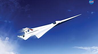 NASA vil bygge nytt, stillere Concorde-fly