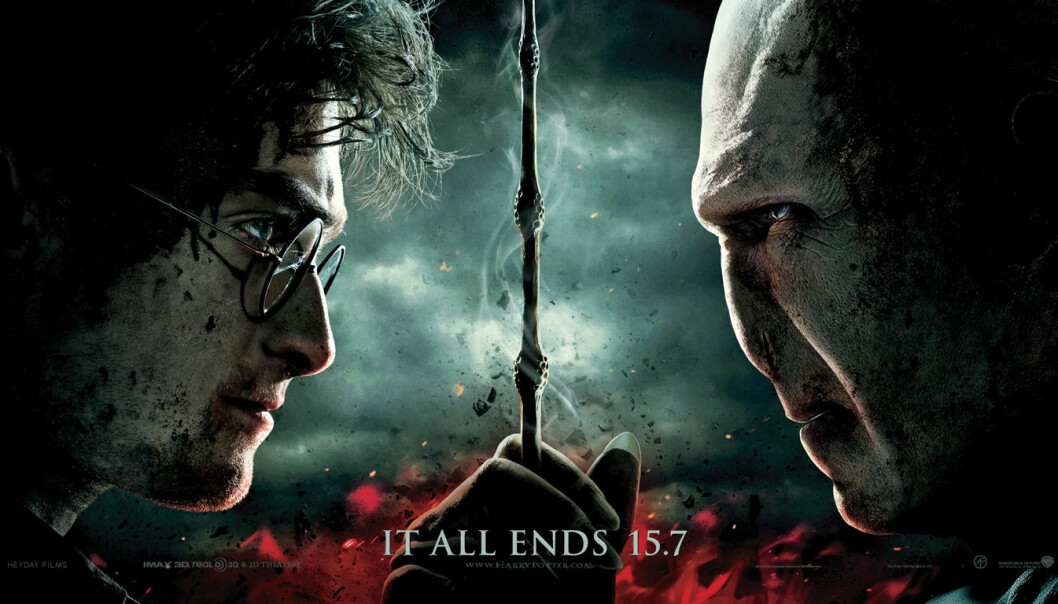 Movie poster from Harry Potter and the Deathly Hallows: Part 2. (Photo: SF Norge)