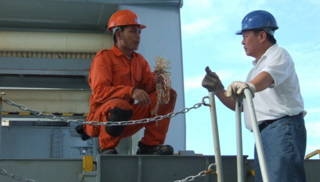 Workers aboard the Norwegian merchant fleet struggle to implement what they learn from the course. (Photo: SINTEF)