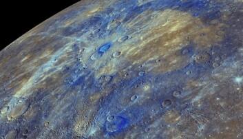 Kan ha løst gåten bak de mørke flekkene på Merkur
