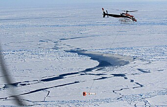 Helicopter sensor improves Arctic ice volume surveys