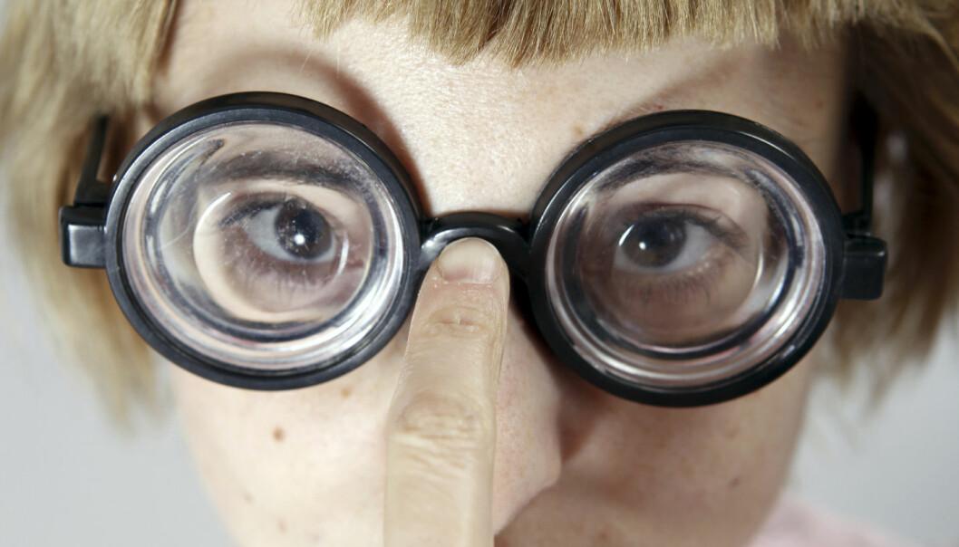 Alvorlig nærsynthet øker risikoen for øyesykdommer. Nå tror forskere at en milliard mennesker vil være sterkt nærsynte innen 2050.  (Foto: arosoft / Shutterstock / NTB scanpix)