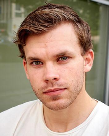 Fredrik Svenby Engen, leder for PF Student (Foto: Politiets Fellesforbund)