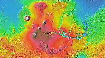 Hele Mars tippet på grunn av denne kjempeklumpen
