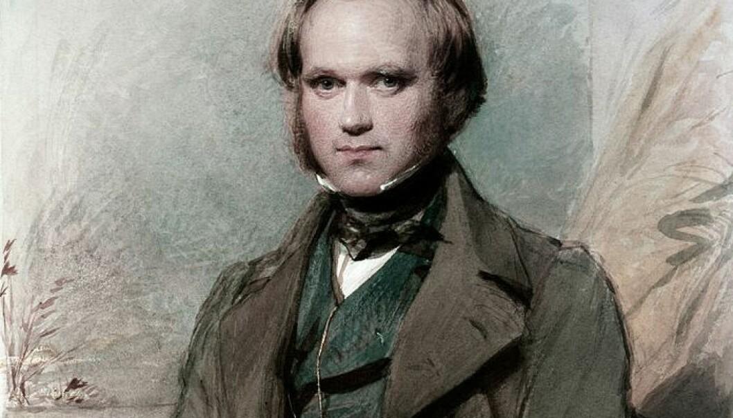 Portrett av en ung Charles Darwin etter at han kom i land med HMS Beagle. Hvordan ville evolusjonsteorien hans sett ut dersom han ikke hadde blitt med på reisen? (Portrett: George Richmond/Wikimedia commons)