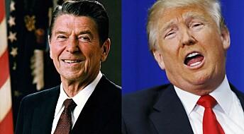 Kronikk: Er Trump den nye Reagan?