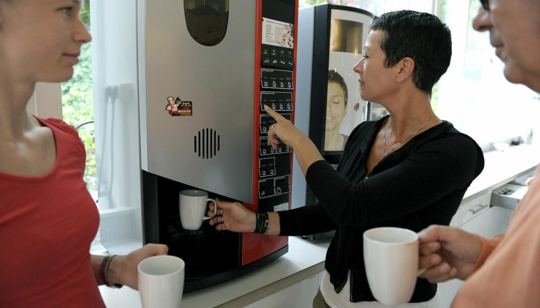 Kaffemaskinen - en energityv?