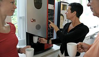 Er kaffemaskinen en energityv?
