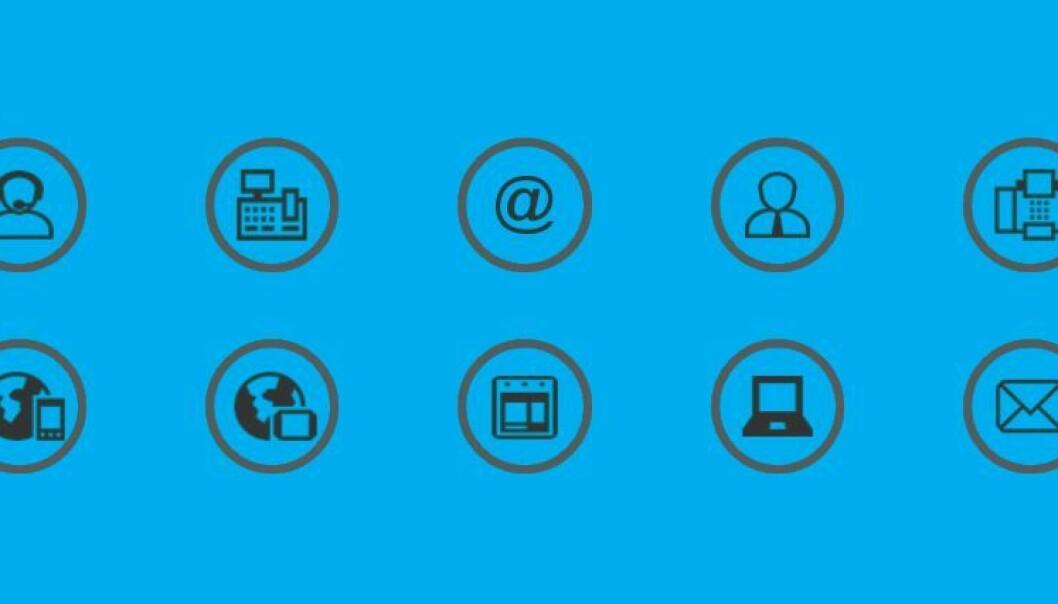 Different digital symbols. (Illustration: Sintef)