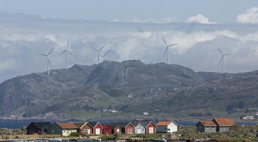 Vindmølleskeptikere er mer plaget av vindmøllebråk