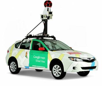 Med biler som dette har Google fotorgrafert nabolag. (Foto: Google)