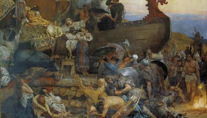 Old Arabic texts describe dirty Vikings