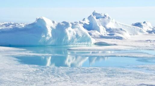 Tusenvis av plastbiter flyter mot Arktis