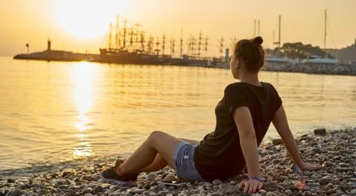 Ferien gjør deg tyngre – og sunnere