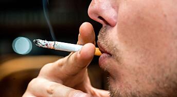 Alzheimer-medisin kan hjelpe røykere med å slutte