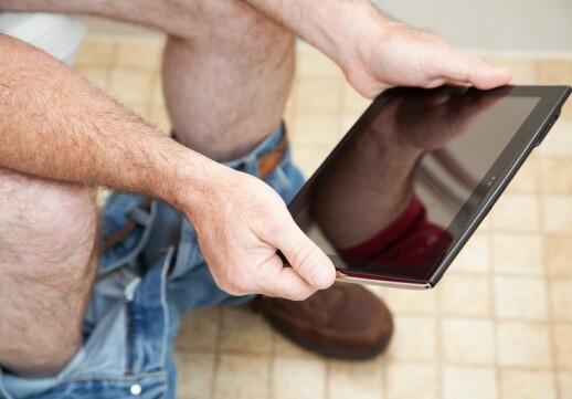 Ei studie av toalettlesevanene ved Fysisk institutt
