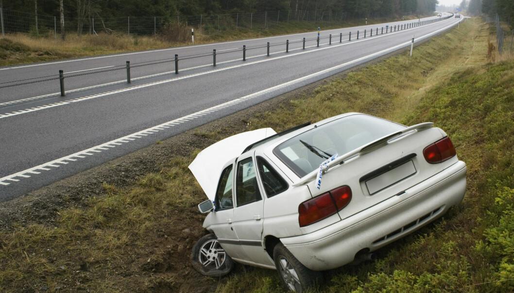 Sjåføren er en risikofaktor i mange av bilulykkene. (Foto: Bengt Olof Olsson/Bildhuset)